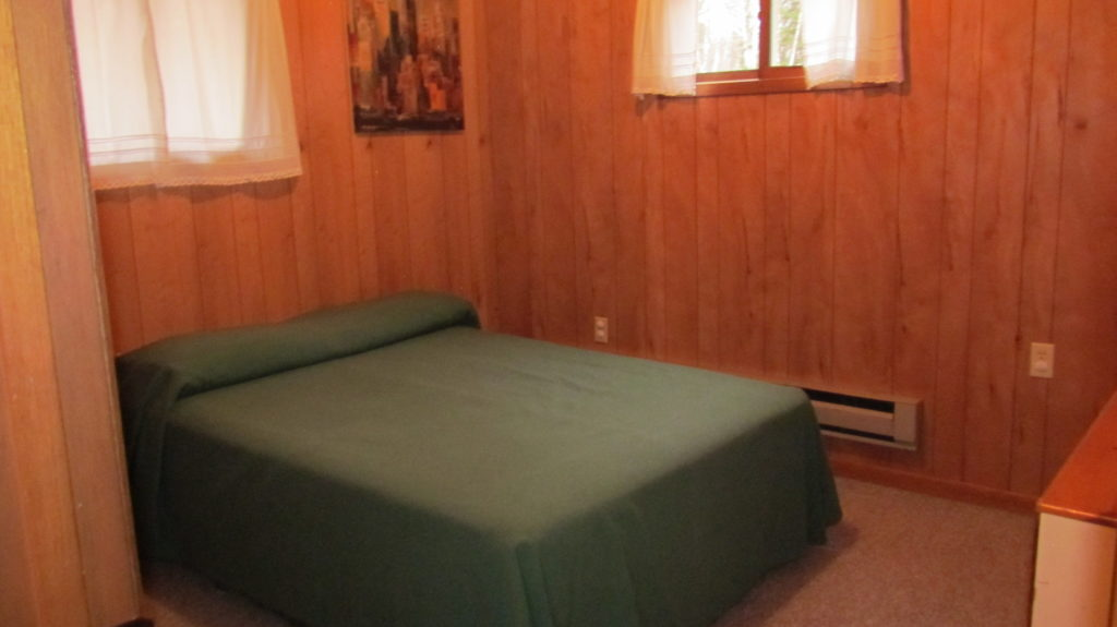 Bedroom at Swan Lake Campground