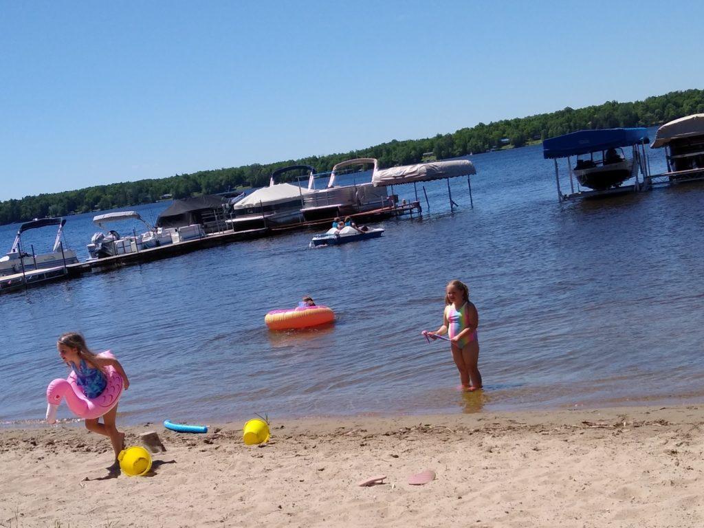 Swan Lake Campground Beach
