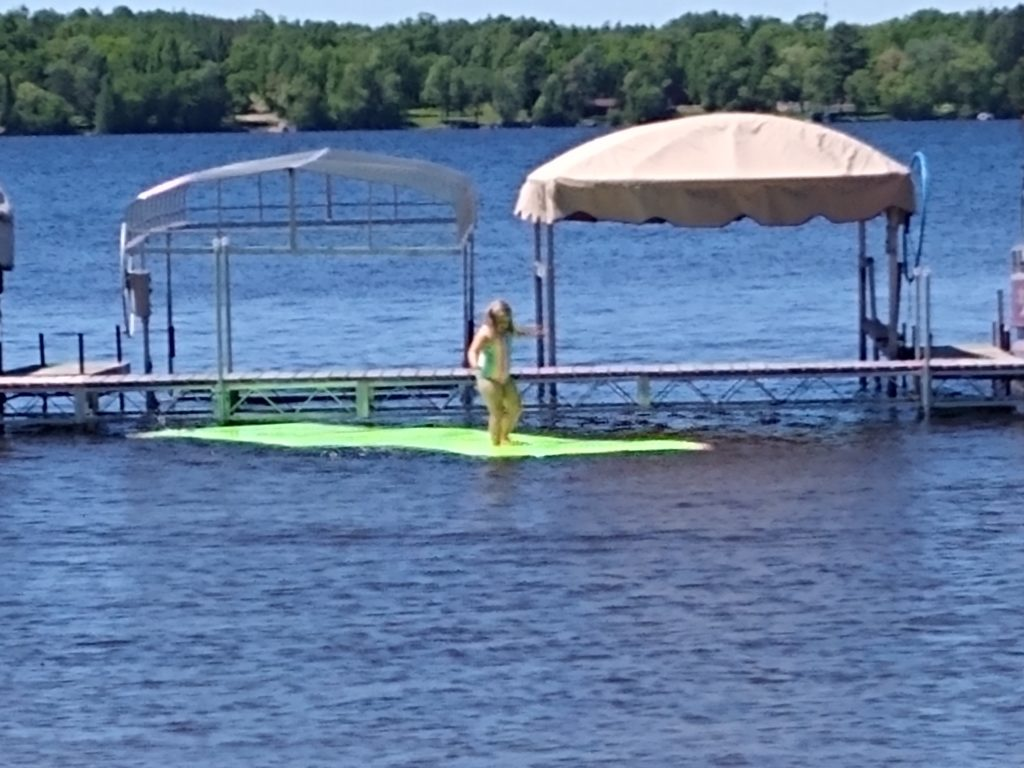 Swan Lake Campground Swimming