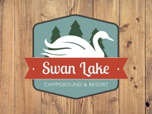 Swan Lake Campground and Resort Logo